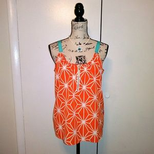 Macbeth Collection by Margaret Joseph Orange Top